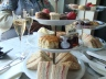 Sweet treats at champagne tea