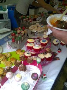 Balham food fest Cupcakes!!!!!!!
