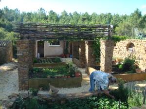 Organic Portuguese garden