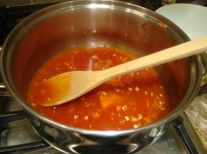 Spicy honey sauce