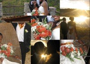 My Burnt Orange Wedding