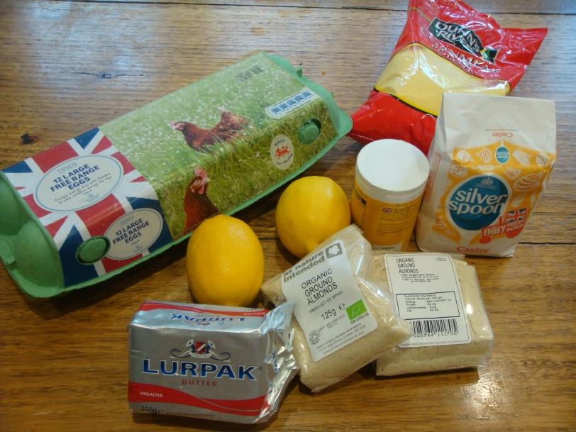 Rooibos Polenta Cake ingredients