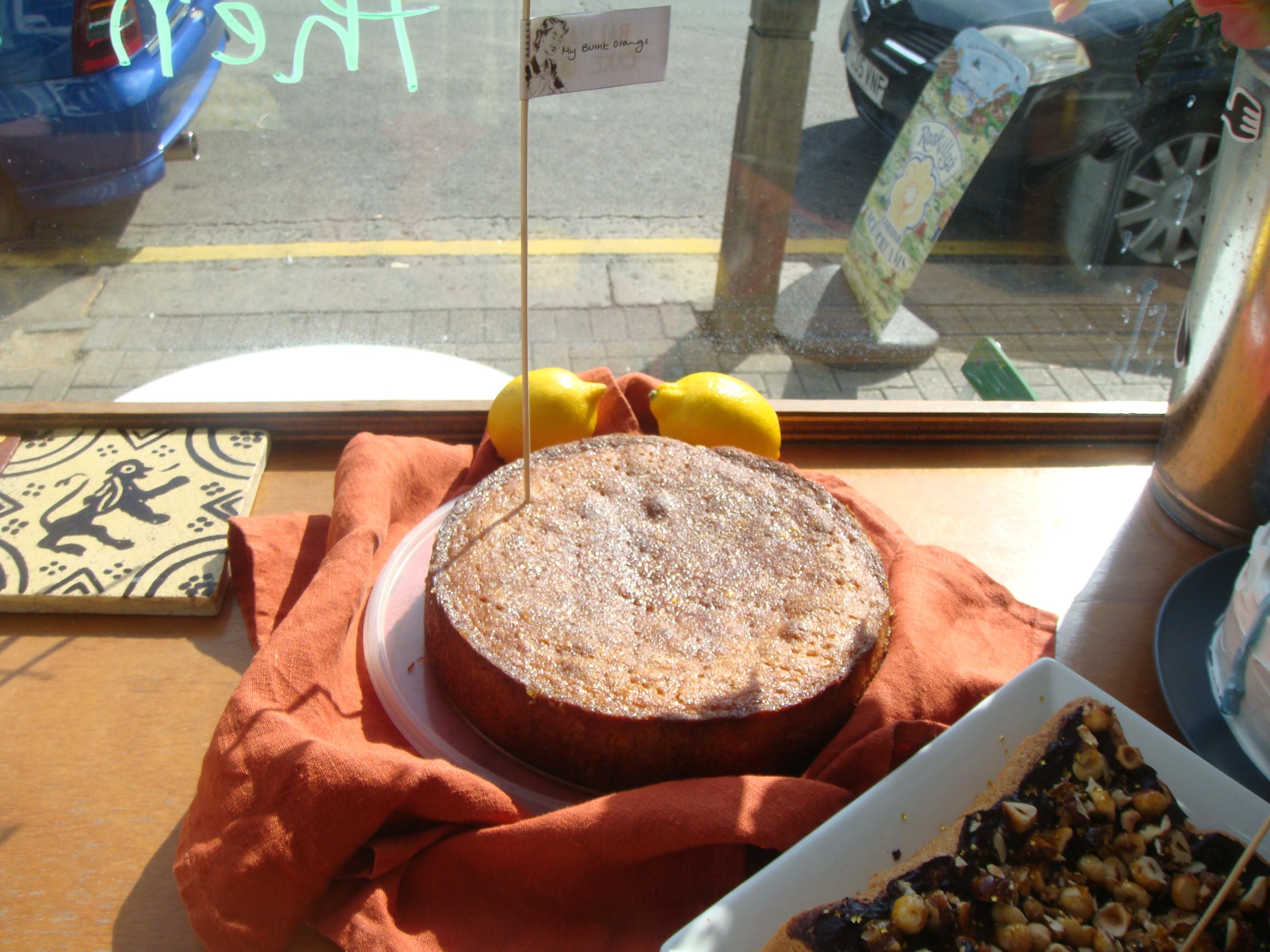 Burnt Orange Balham Cake off 1 entry
