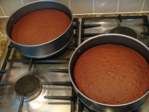 Betty Crocker choc fudge cakes