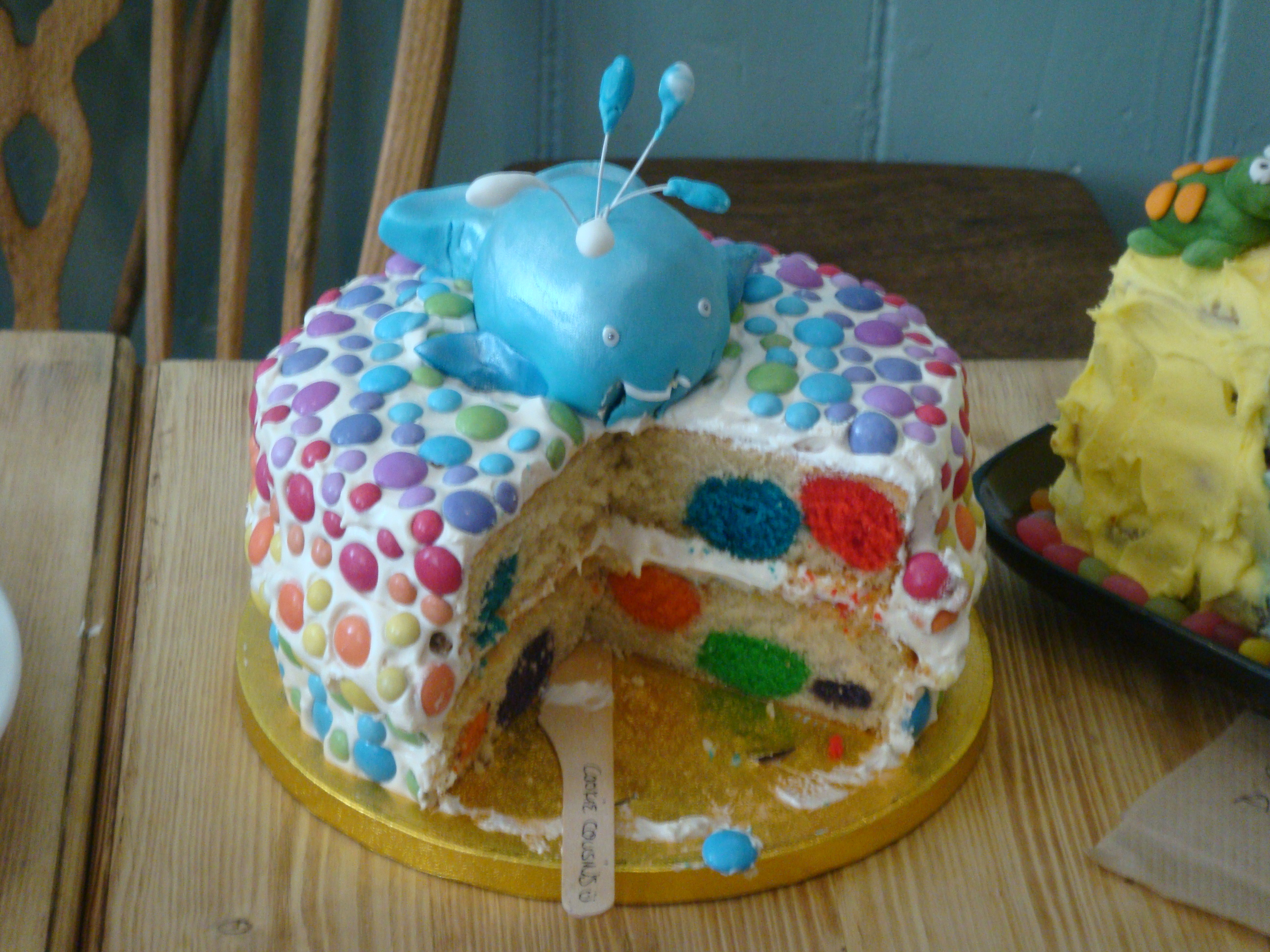 Cookie Cousins round 3 cake